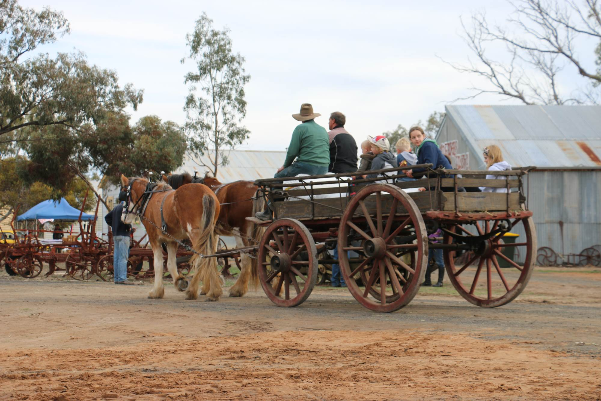 Jeparit's Wimmera Mallee Pioners Museum - 2015 Vintage Rally